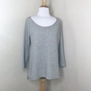 James Perse Striped Sweater